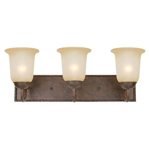 home depot bathroom lighting bronze yosemite home decor mckensi collection 3 light bronze