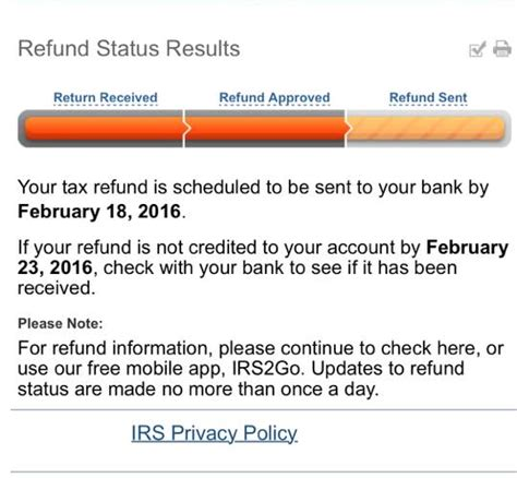 Tax Return Tracker Phone Number Quot Where S My Refund Quot Status Results Refundtalk