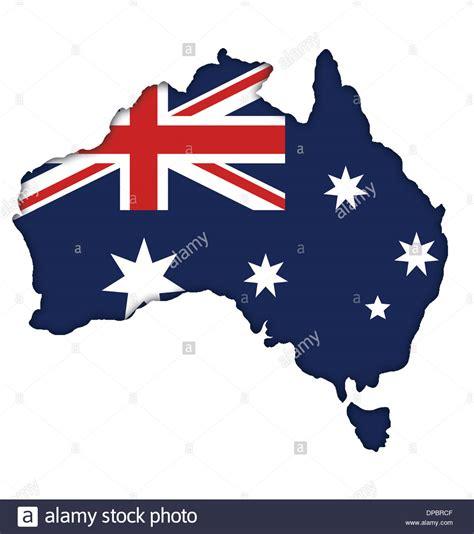 Free Mobile Lookup Australia Australian Flag Banner Map Icon Logo Of Australia Stock Photo Royalty Free Image