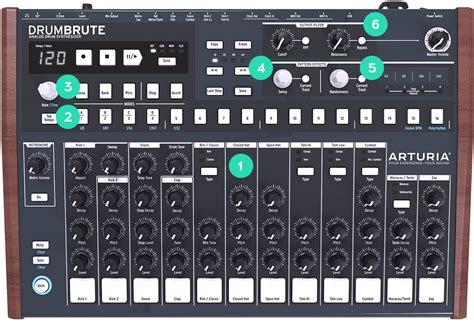 pattern for drum machine arturia overview