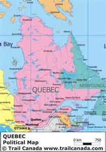 Quebec Canada Map by Map Of Quebec Province With Cities