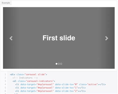 bootstrap slider template creating a slider using bootstrap 3