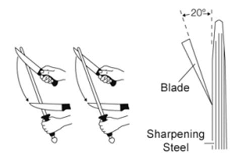how to use sharpening steel sharpening steel knife sharpener