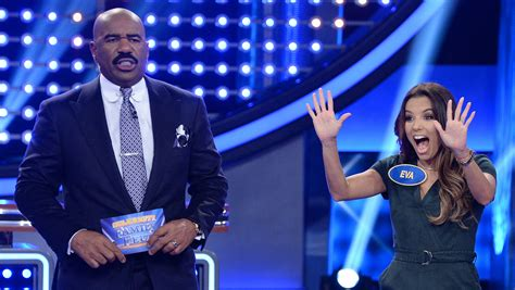 Family Feud Fast Money Win - eva longoria gets 193 out of 200 points for family feud fast money watch now