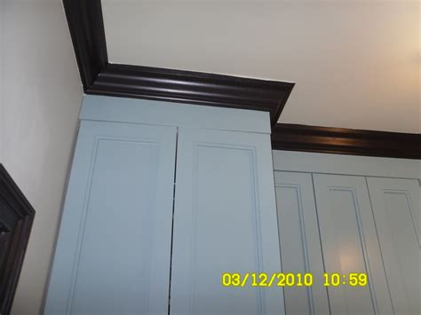 types of crown molding for kitchen cabinets kitchen cabinet crown molding styles images frompo