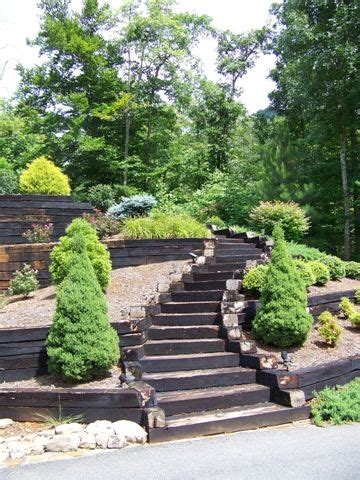 Landscape Ties 1000 Ideas About Railroad Ties Landscaping On