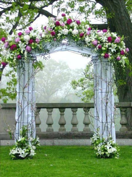 Garden Wedding Altar Ideas Altar Arch Arrangements Chuppah Indoor Ceremony Outdoor Ceremony Wedding Ceremony Photos