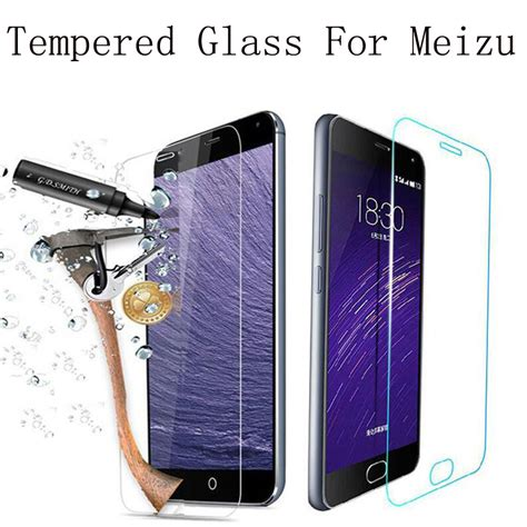 screen protector premium tempered glass for meizu m2 mini