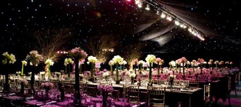 hire seting video marquee for hire set up with lights for night party