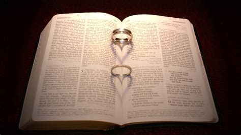 Wedding Bible Images by Wedding Rings In Bible Hd Wallpaper And Background