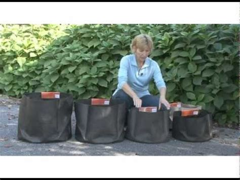 Easy Grow Planter Bag Planter Bag 15 Liter Hitam container gardening made easy with smart pots