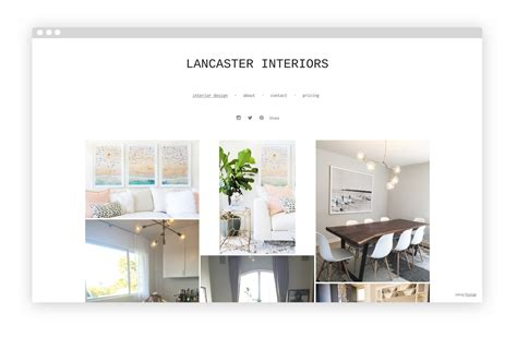 12 Interior Design Portfolio Website Exles We Love Interior Design Portfolio Template