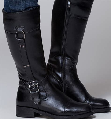 knee high motorcycle boots mens knee boots cr boot
