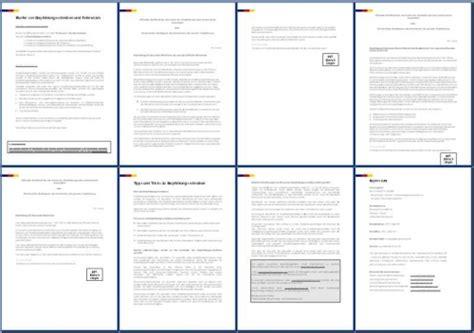bewerbungsmappen im bewerbungsshop24 de referenzschreiben 3 x referenzen professoren an