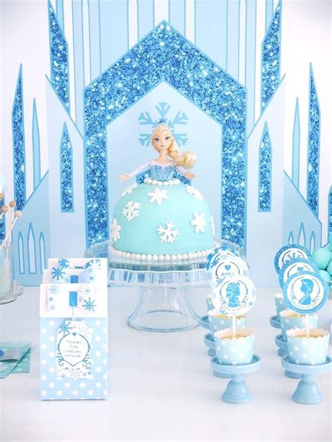karas party ideas shining shimmering frozen birthday party karas party ideas