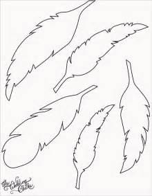 feather template feder handwerk und basteln zeichnen and bastelprojekte on