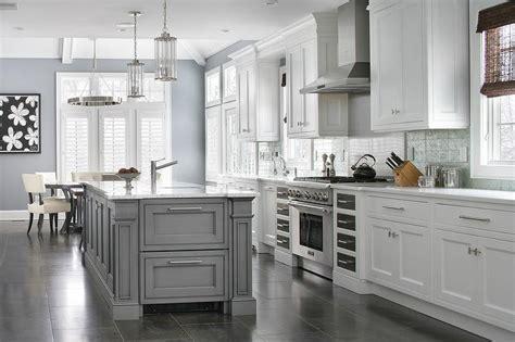Alyssa Rosenheck: Gray Shaker Kitchen Cabinets with Oil