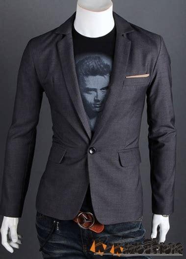 Blazer Korea Pria Kombinasi Hitam Abu Casual Santai Bandun detil produk readystock blazer pria korea njs09 kazoustore