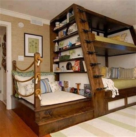 beds with shelves pin by denise crittendon on teen rooms pinterest