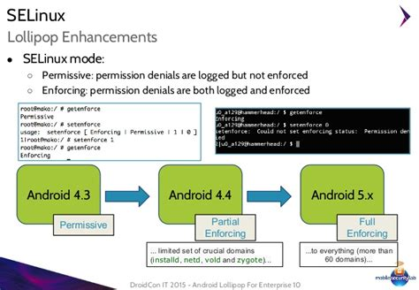 for enterprise android droidcon it 2015 android lollipop for enterprise