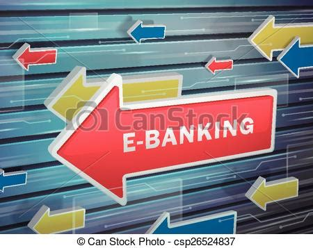 hs bank e banking vectors of moving arrow of e banking word on abstract