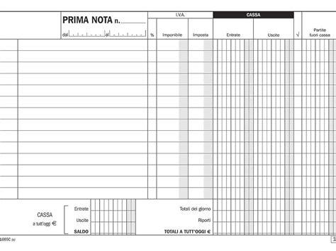 prima nota cassa registro prima nota cassa come funziona e come usarlo