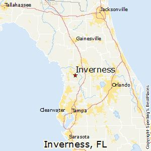 map of inverness florida best places to live in inverness florida