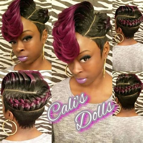 stocking cap weave hairstyles oltre 1000 idee su short quick weave su pinterest