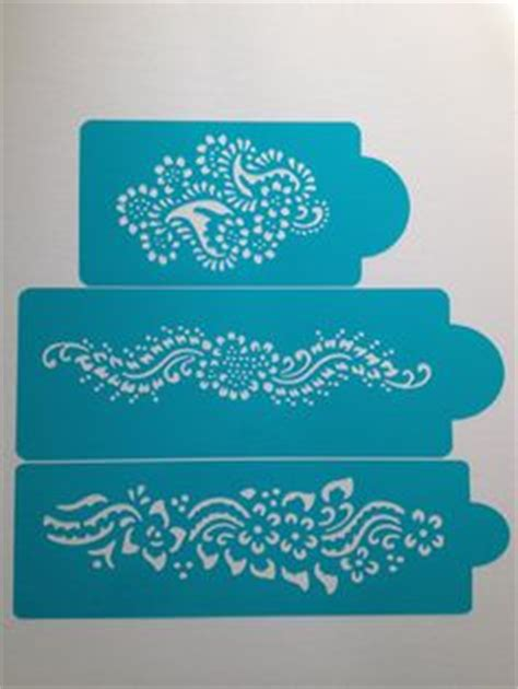 henna design wall stencils cake stencils mehndi mehendi henna 4 pcs cake