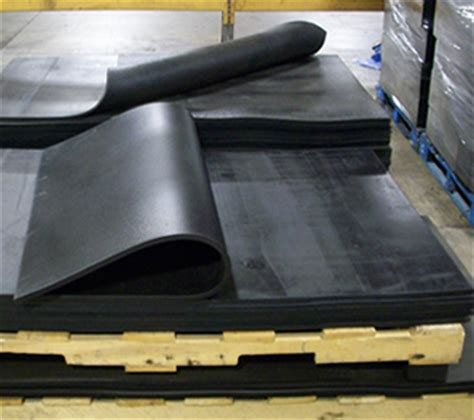 1 Self Healing Rubber Floor Mats by Industrial Rubber Sheets And Pads Black Iron Rubber Company