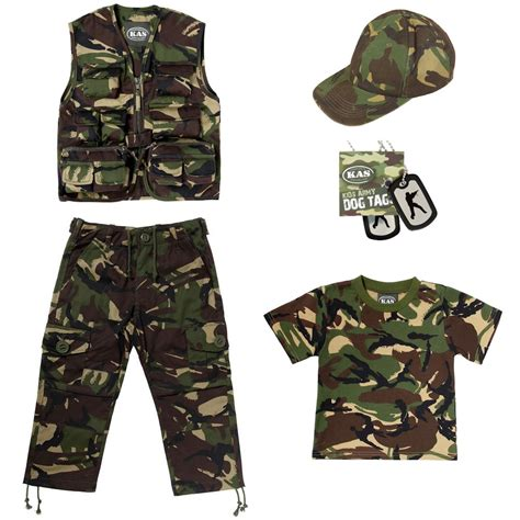 camouflage clothing set army clothes