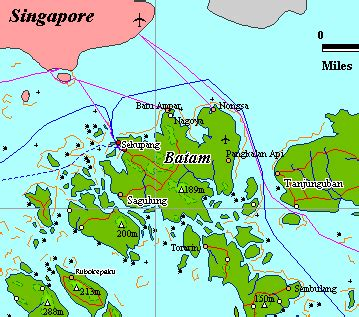 Batam Map And Images Of Batam Map Citiviu Com