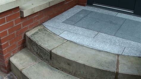 Brush In Patio Pointing Marshalls Eclipse Granite Patio Paving In Manchester Ljn