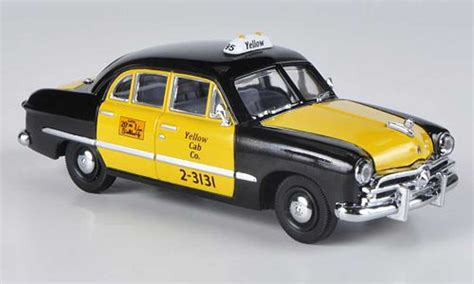 ford custom 1949 4 door sedan yellow cab co black yellow