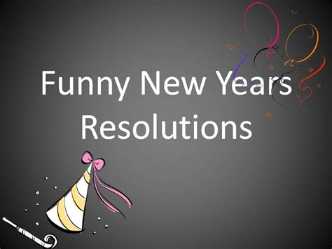 funny new years resolutions youtube