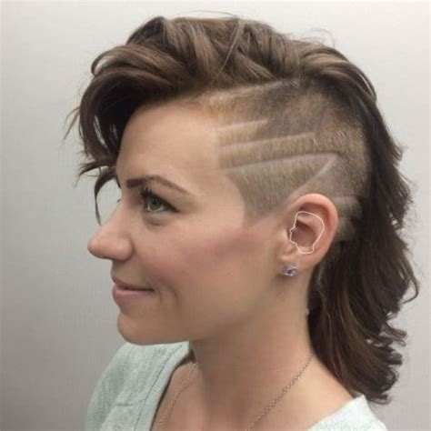 women undercut long undercuts for women hit the barbershop