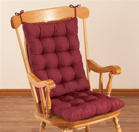 Rocking Chair Cushion Set by Microfiber Rocking Chair Cushion Set By Oakridgetm Ebay