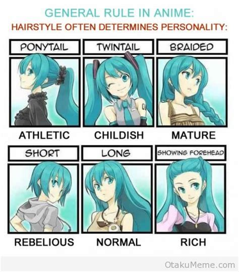 what do anime hairstyles mean otaku meme 187 anime and cosplay memes 187 anime personality