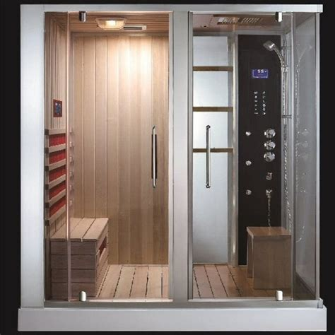 Bathroom Sauna Showers Aquapeuticssouthwood Steam Shower Sauna Combo Modern
