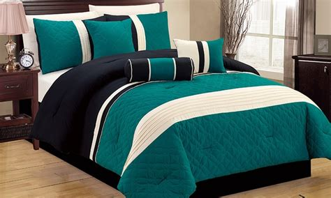 color block comforter color block comforter set 7pc groupon goods