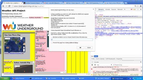 tutorial jquery api weather api via iframe jquery ajax autocomplete tutorial