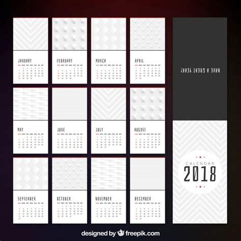 printable calendar 2016 minimalist elegant 2018 minimalist calendar vector free download