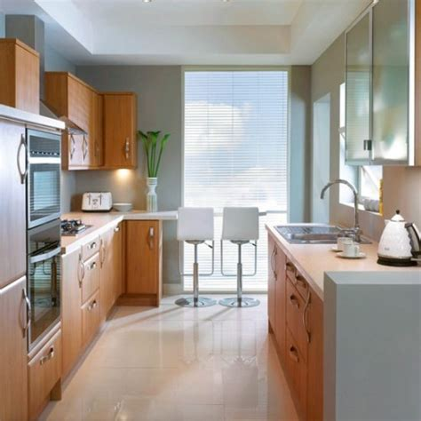 desain dapur single line desain dapur rumah minimalis model double line