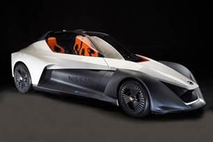 Nissan Sportscar Nissan Bladeglider Electric Sports Car Pointy But