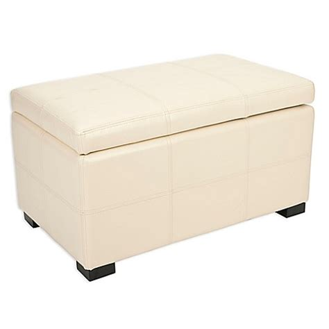 Buy Storage Ottoman by Buy Safavieh Small Storage Ottoman In From