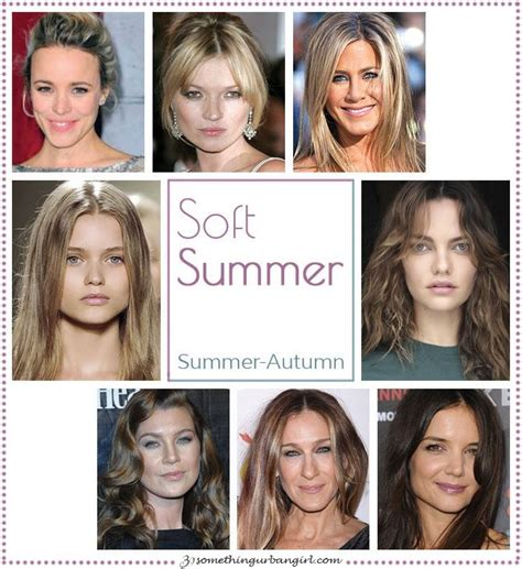 summer skin tone celebrities 640 best images about clothes soft summer palette on