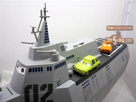 boat car in disney disney pixar cars disney store combat ship review