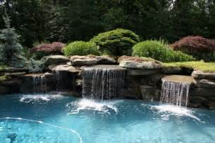 modern home waterfall design ideas beautiful homes design