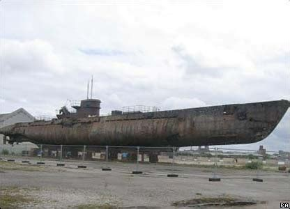 german u boats never found u boat on the mersey down by the dougie