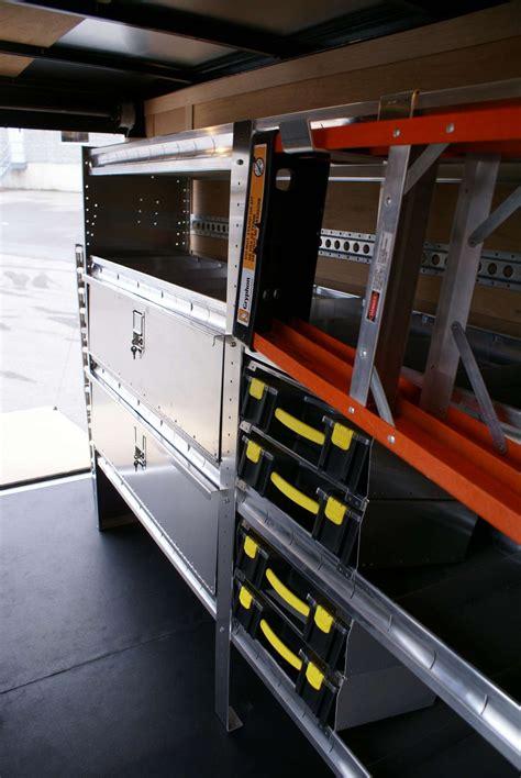 enclosed trailer shelving storage ranger design